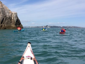 Berry head sea kayaking holidays