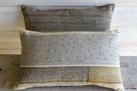 Cushions Grey With Loops