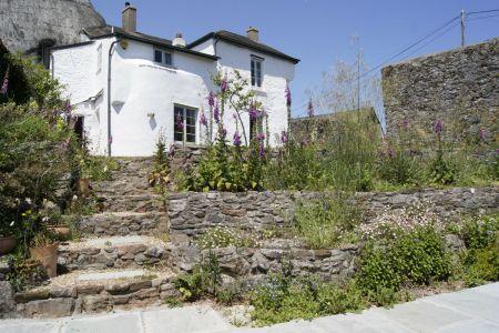 Farm House Steps And Back
