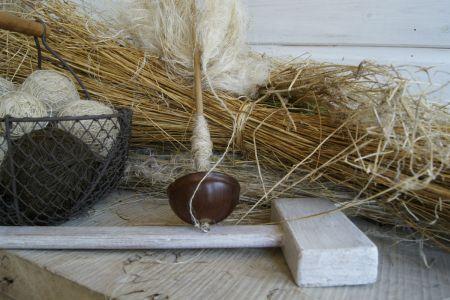 Yarn Fibre Unprocessed Mallet