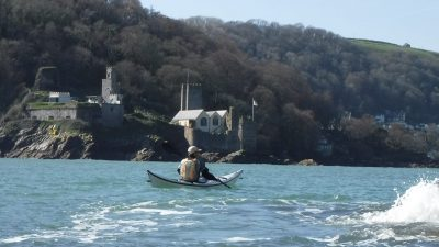 Dartmouth castle sea kayaking holiday